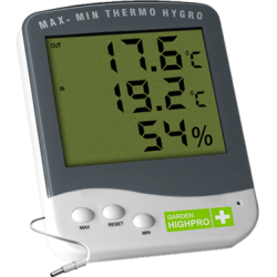 Highpro Digital Thermo and Hygrometer with external probe