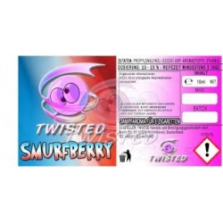 Twisted Vaping Smurfberry  10ml