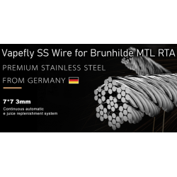 Vapefly Stainless Steel Wire for Brunhilde MTL RTA