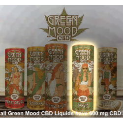 Green Mood CBD - Tangie - Full Range
