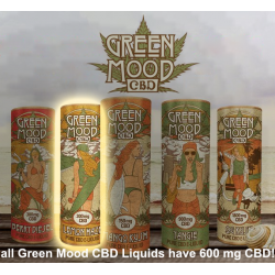 Green Mood CBD - Lemon Haze - Full Range