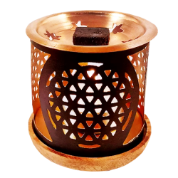 Aromafume Incense diffuser Flower Of Life Exotic