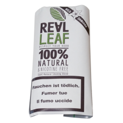 Real Leaf - Wild Damiana - Natural Nicotine Free Smoking Blend