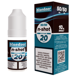 Bluedoor N-SHOT 10 ml, 20 mg/ml, 50 VG/50 PG