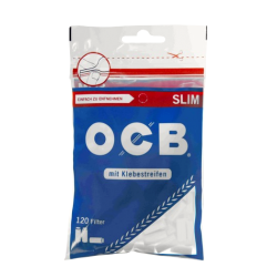 OCB Cellulose-Filter slim with adhesive tape