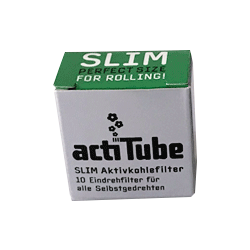 ActiTube Activ Charcoal-Filter Slim 10 pc.