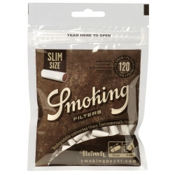 Smoking Cellulose-Filter slim unbleached