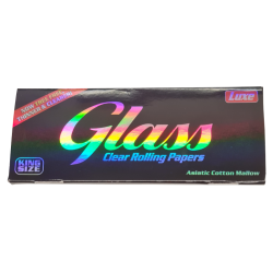 Glass Clear Cellulose Rolling Papers King Size