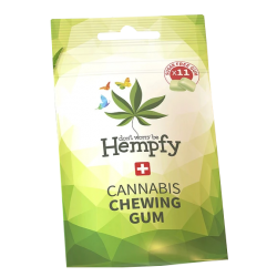 Hempfy - Natural Cannabis Chewing Gum Bag, 11 pcs
