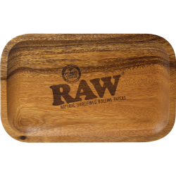 RAW - Wood Rolling Tray Small