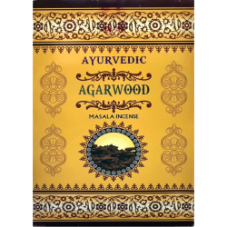 Masala - Ayurvedic - Agarwood, 15 Sticks
