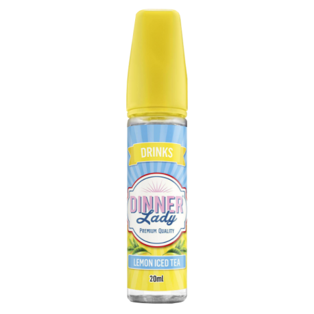 Dinner Lady - Drinks - Lemon Iced Tea Shortfill, 50 ml