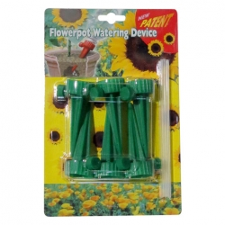 Water system for potted plants