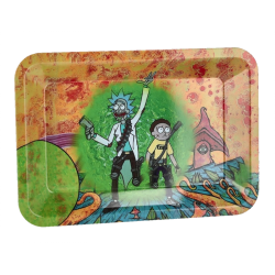 Rolling Tray Rick and Morty