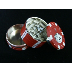 Pokerchip Grinder Red