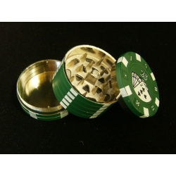 Pokerchip Grinder Green