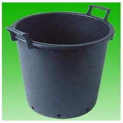 - Pots/Trays/Containers - Round pot with handles, 35 L