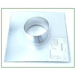 - Accessories - Wall Flange 100 mm
