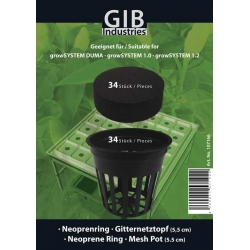 Growtool - Hydrosystems - Mesh Pot Set for growSYSTEMS