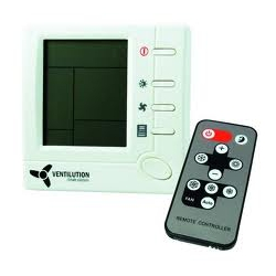 Ventilution - Climate Control - Electronic Temperature Control with remote control