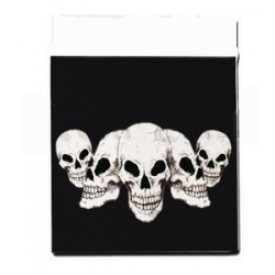 Mini Grip Skull 35 x 35 mm, 100 pcs
