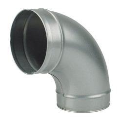 Pipe Elbow 90°, 125 mm connection port