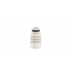 Drip Tip Stainless Steel Wide Bore
