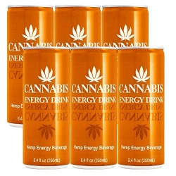 Cannabis Energy Drink Mango - 6x250ml