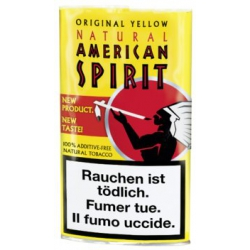 "Tabac American Spirit  25g ""Original Yellow"""