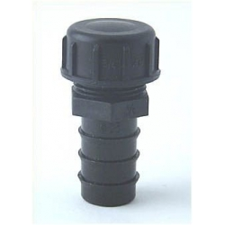 "End Plug 25 mm  ¾"" (Ext. Thread) with end cap PE ¾"" (Int. Thread)"