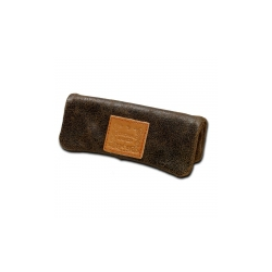 "- Kavatza Mini Pouch ""Dark Leather"""