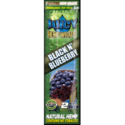 Juicy Hemp Wraps - Black N´ Blueberry