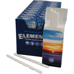 Elements Super Slim Filters 126Stk