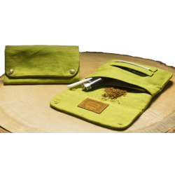 Kavatza Hemp Tobacco Bag Lime Green