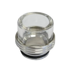 Glass and stainless steel Drip Tip 810 (TFV8 / TFV12)