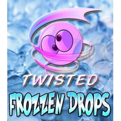 Twisted Vaping Frozzen Drops 10ml