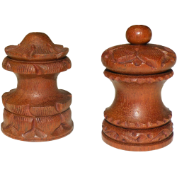 Incense stick holder India Wood Brown Small