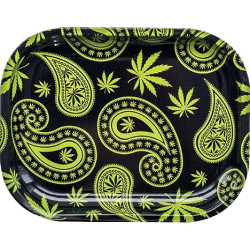 Paisley Weed Tray Klein