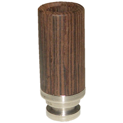 Wood + Steel Hybrid 510 Drip Tip